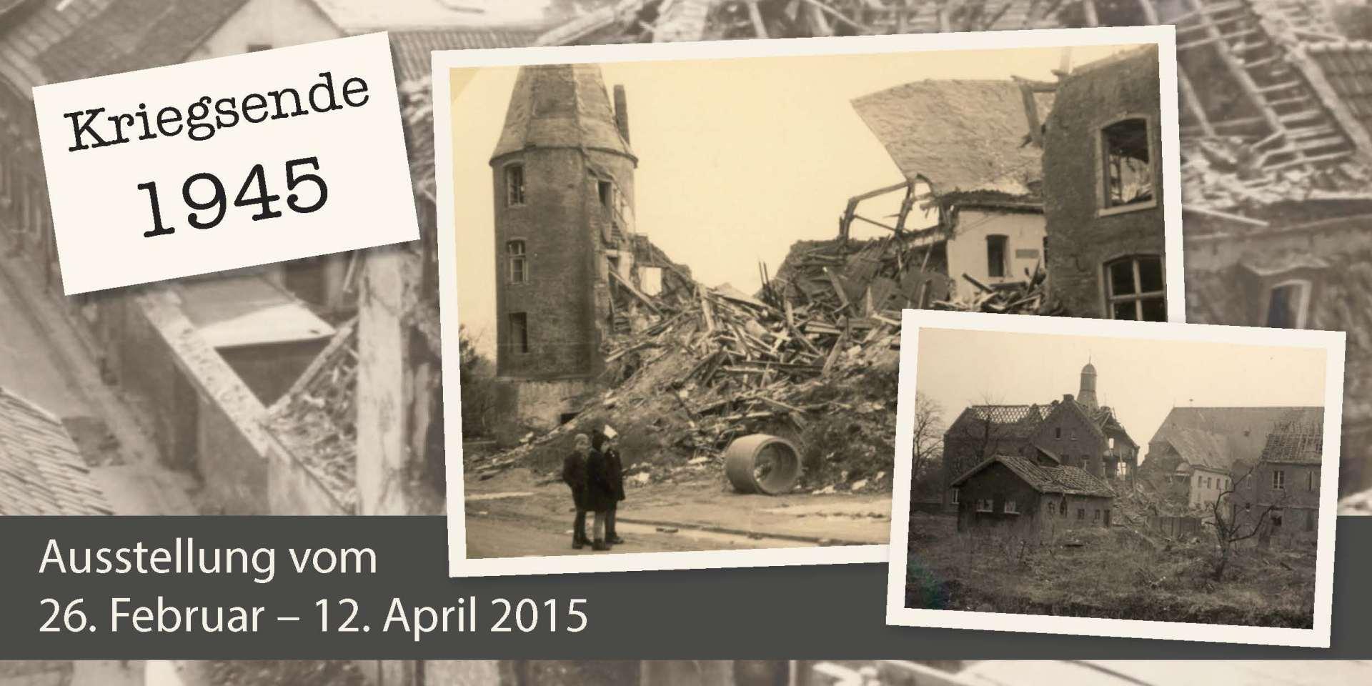 Kriegsende 1945 in Grevenbroich
