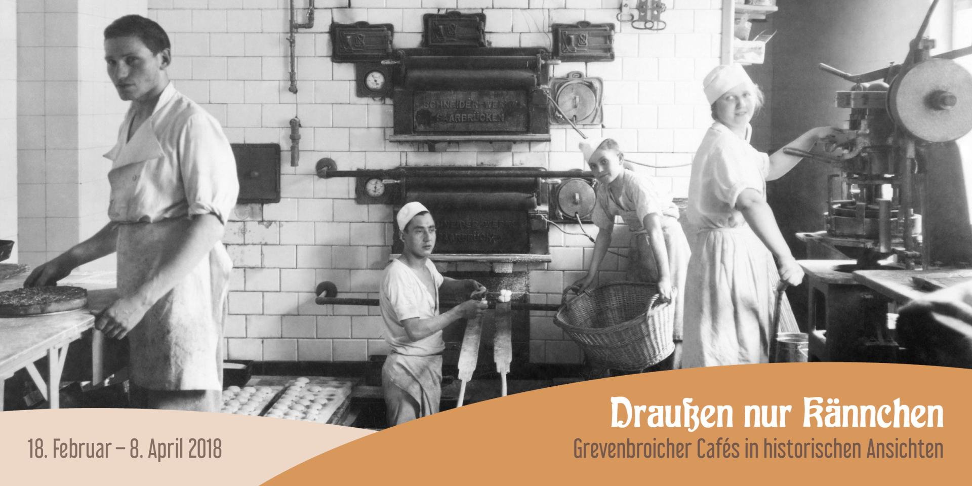 Grafik Ausstellung Grevenbroicher Cafes