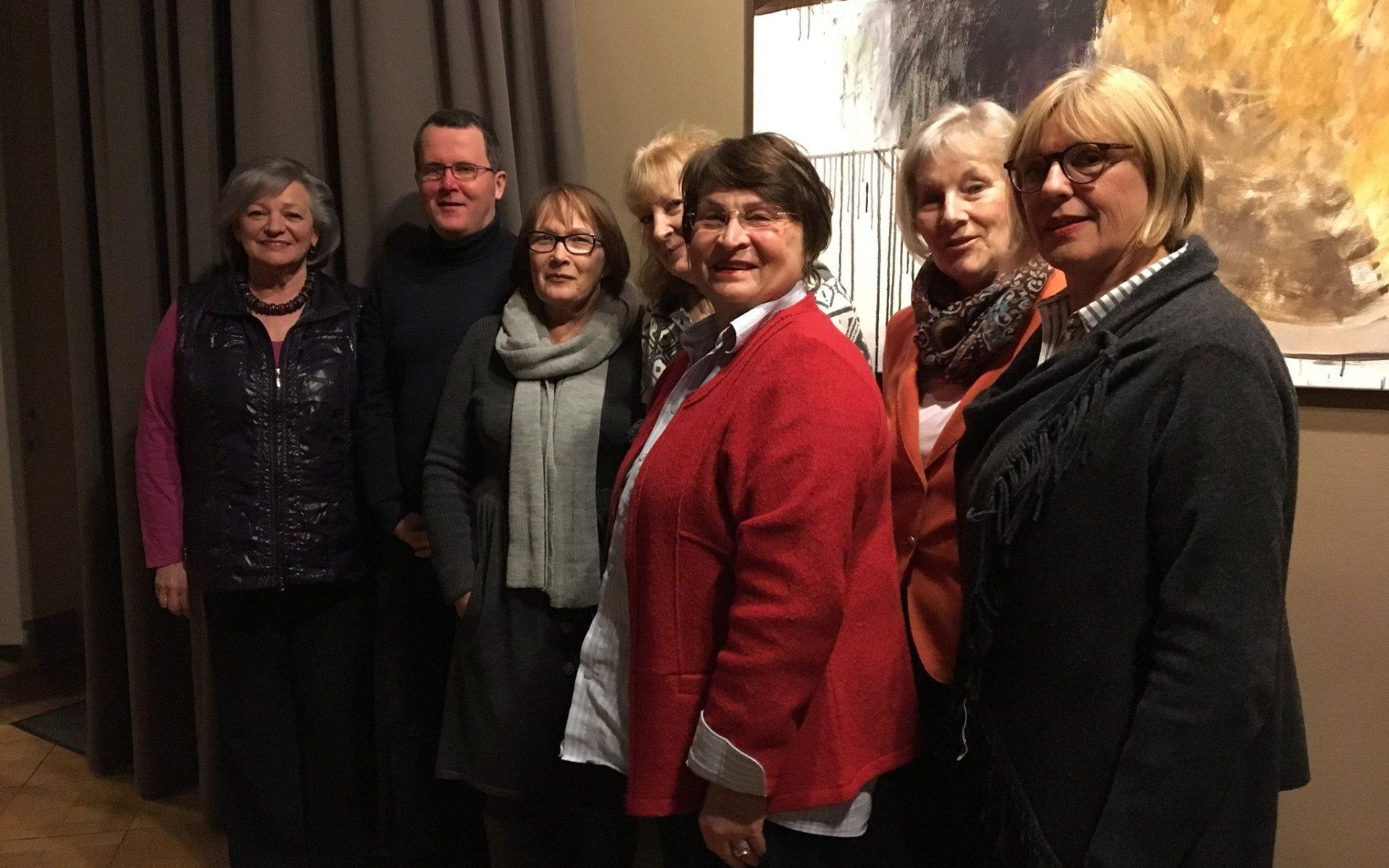 Neuwahl des Vorstandes im März 2018