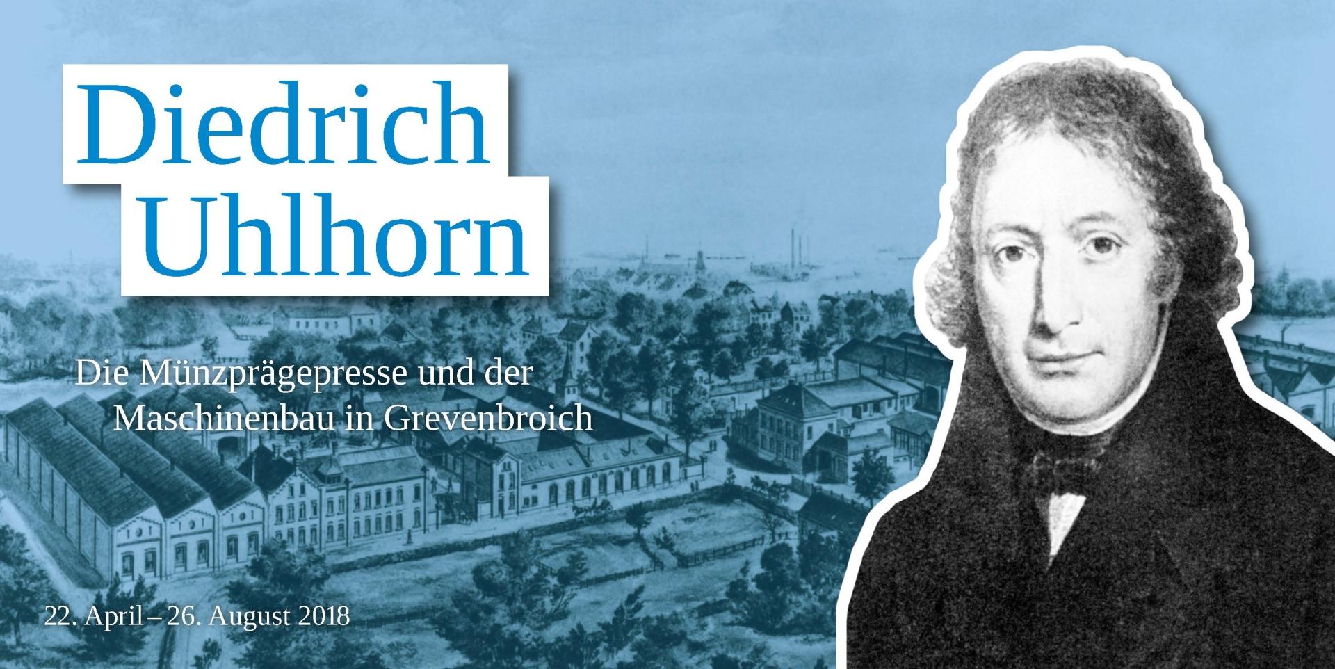 Grafik zur Diedrich Uhlhorn Ausstellung