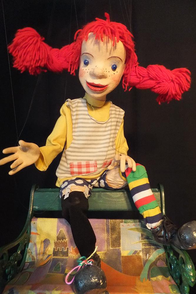Foto Puppenspiel Pippi Langstrumpf