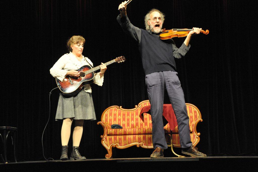 Foto Klaus der Geiger und Antje von Wrochem