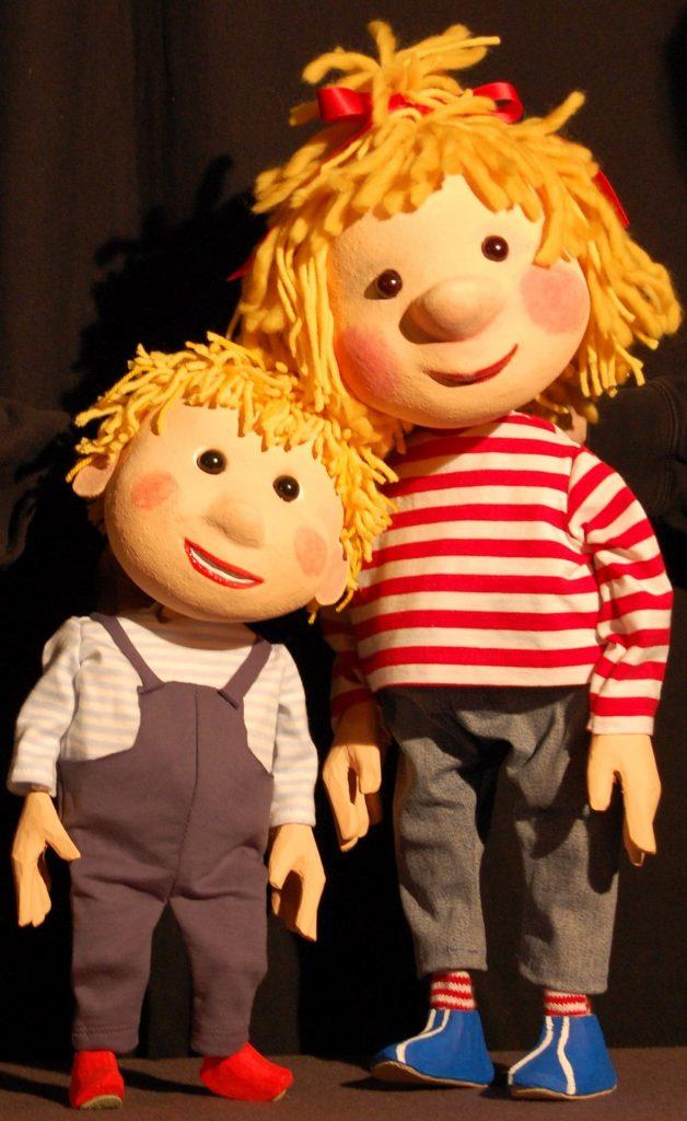 Conni mit Bruder Jakob (Wodo-Puppenspiel)
