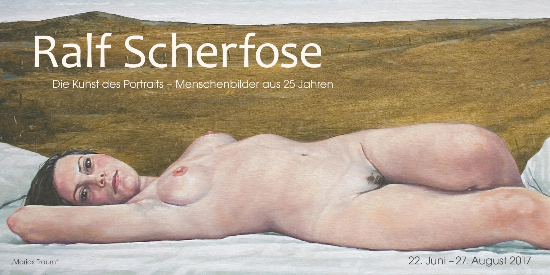 """Ralf Scherfose """"Die Kunst des Portraits – Menschenbilder aus 25 Jahren"""""""