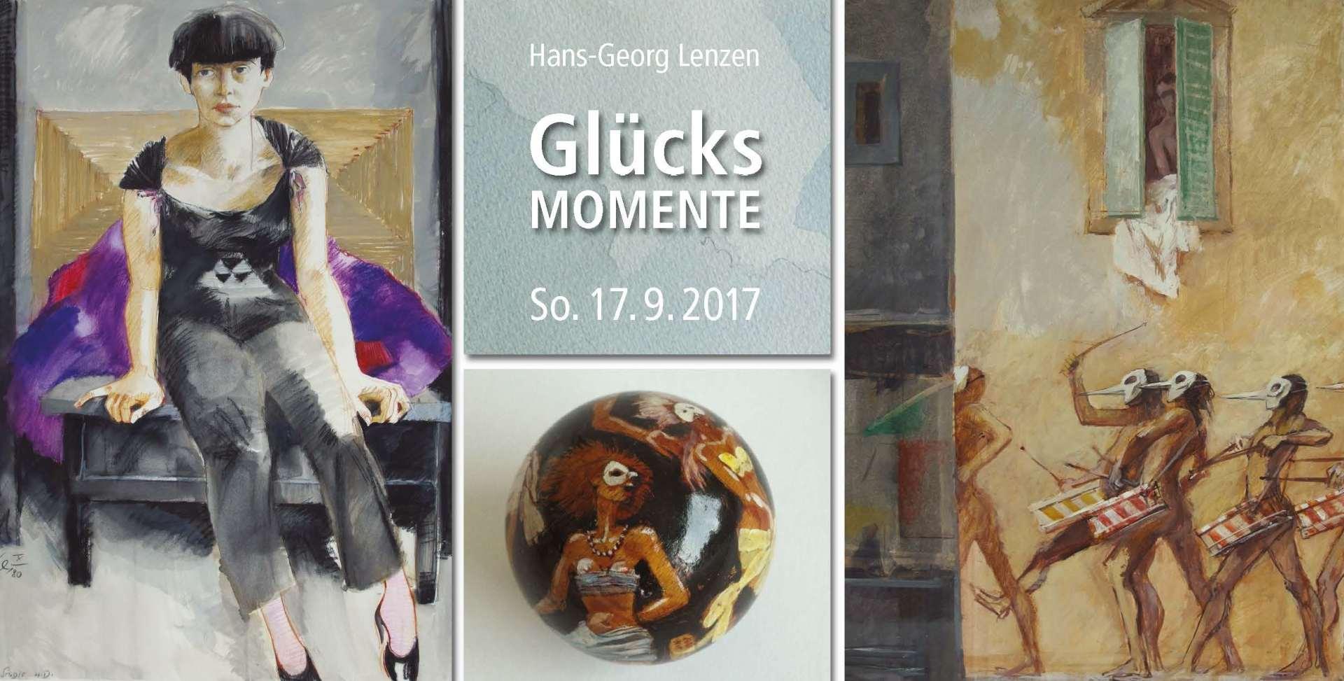 "Grafik Hans-Georg Lenzen - ""Glücksmomente"""