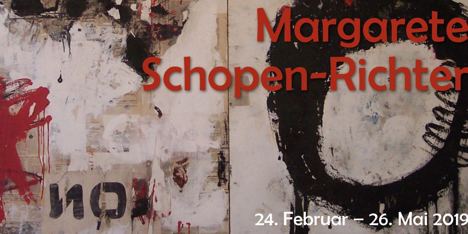Grafik Ausstellung Margarete Schopen-Richter