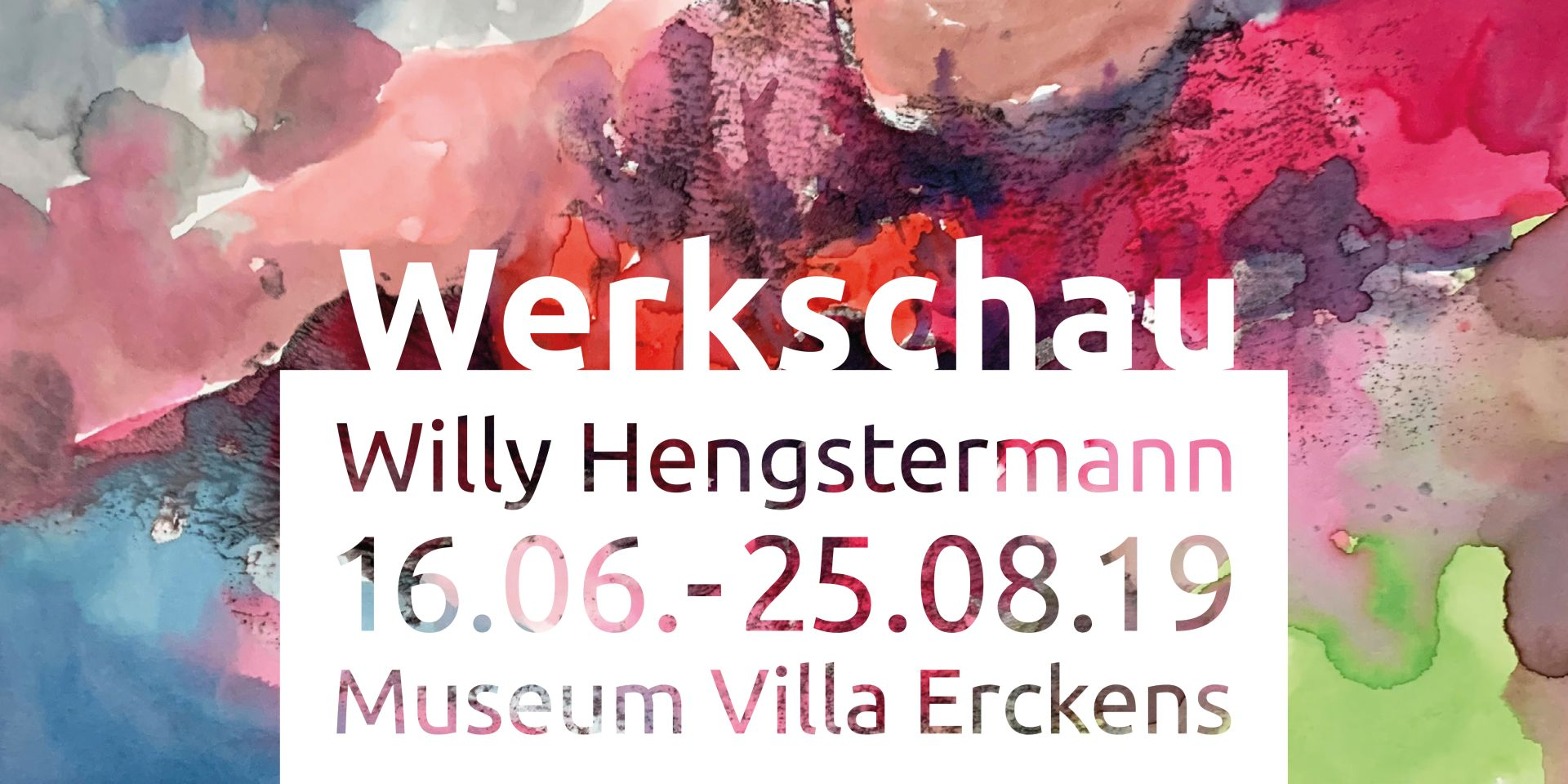 Grafik Willy Hengstermann Werkschau