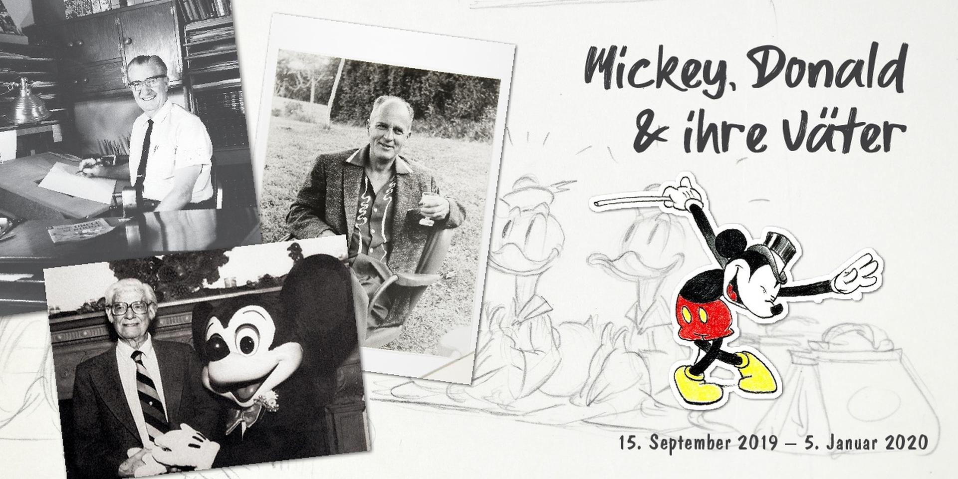 Mickey, Donald und ihre Väter Ausstellung